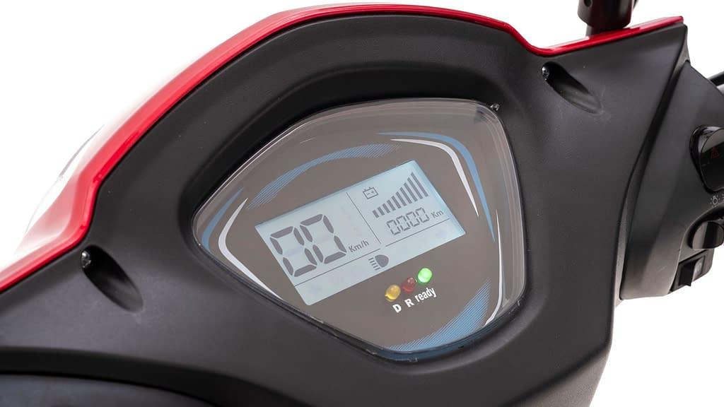 Nipponia Driewielscooter 2Fast Digital Dashboard