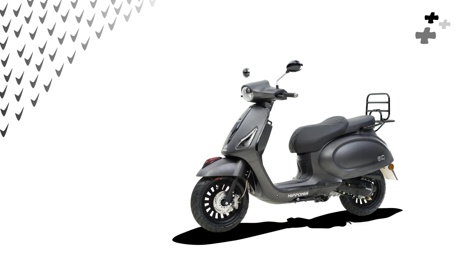Nipponia BiQ Petrol Scooter