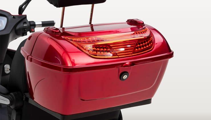 Nipponia Driewielscooter 2Fast Rear Box