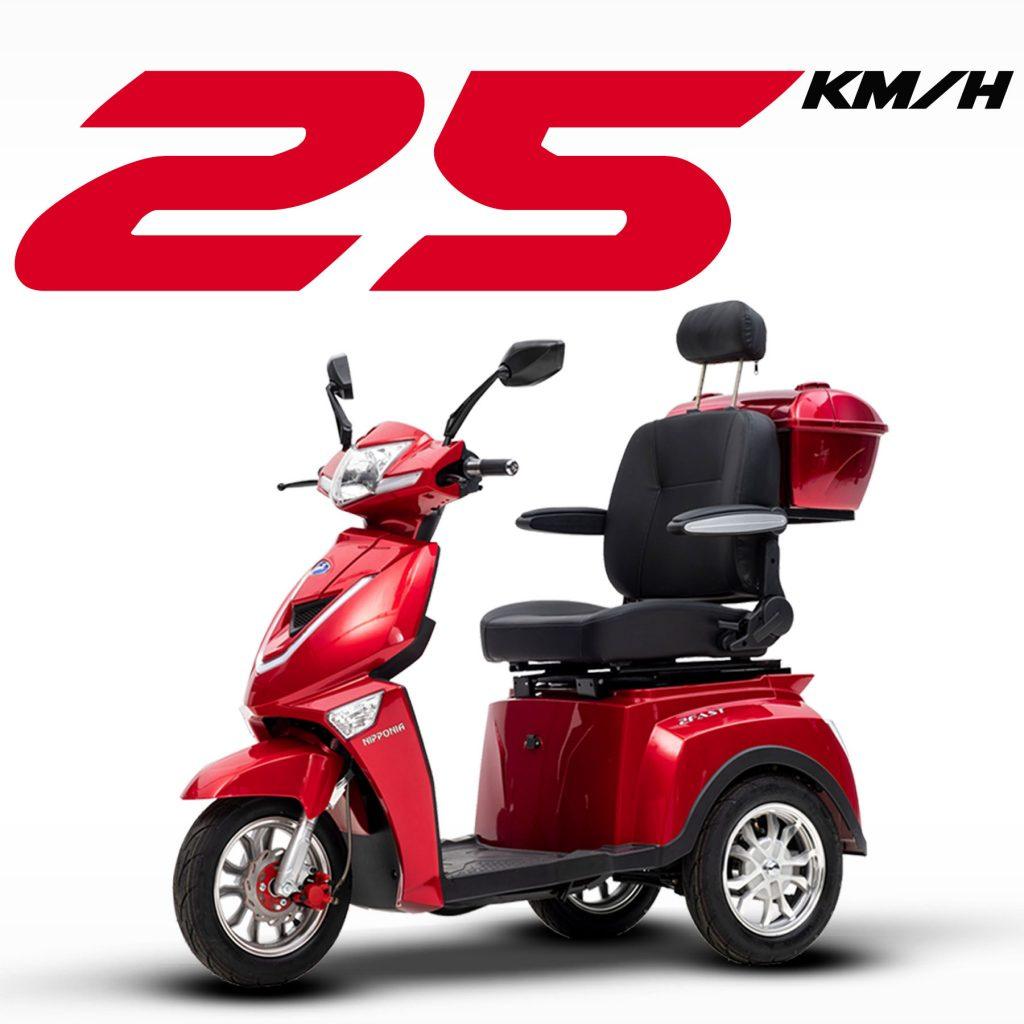 Nipponia Driewielscooter 2Fast