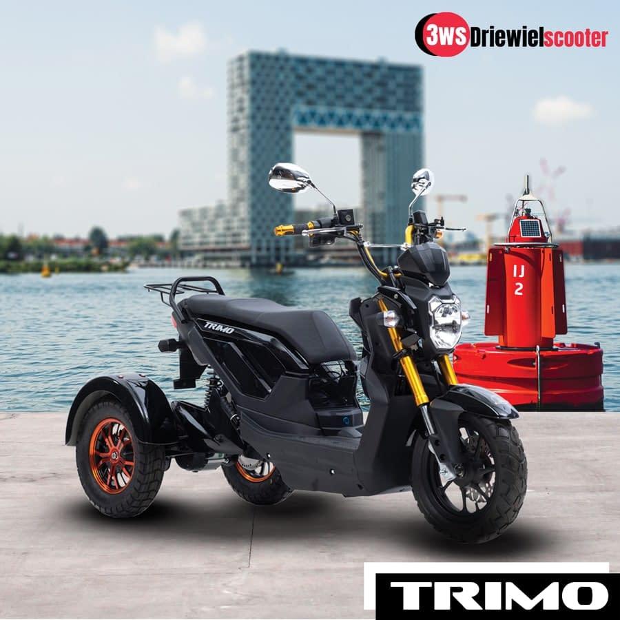 Nipponia Driewielscooter Trimo