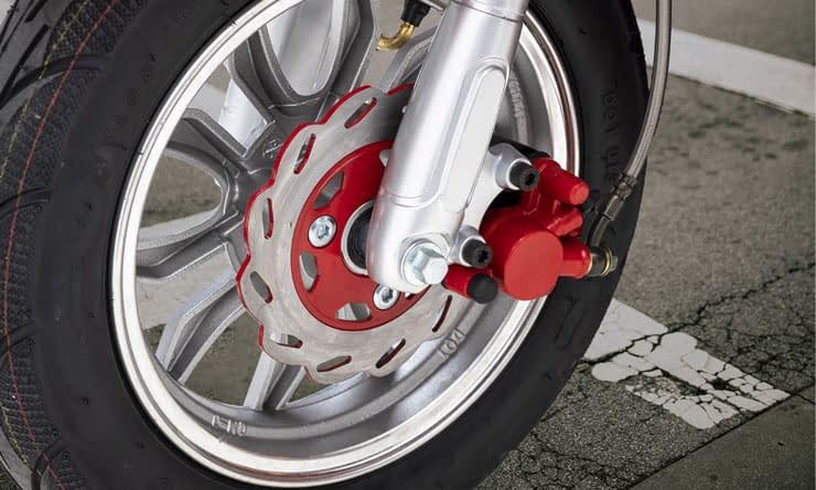 Nipponia Driewielscooter 2Fast Disc Brake
