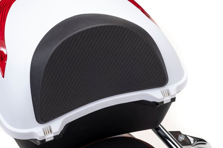 Driewielscooter Pride Rear Box White
