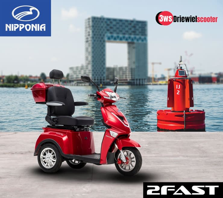 Driewielscooter 2Fast