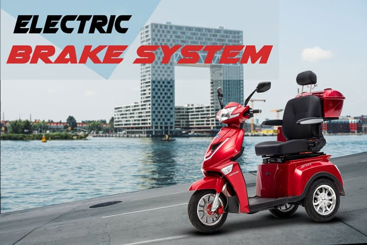 Driewielscooter 2Fast Electric Brake System
