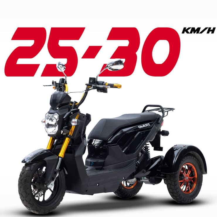 Driewielscooter Trimo Max Speed