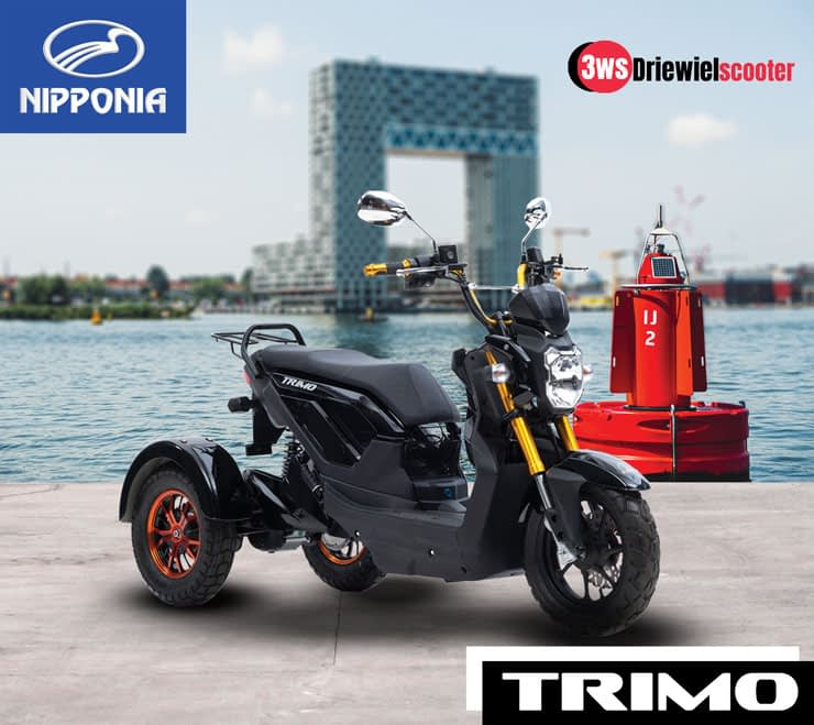 Driewielscooter Trimo