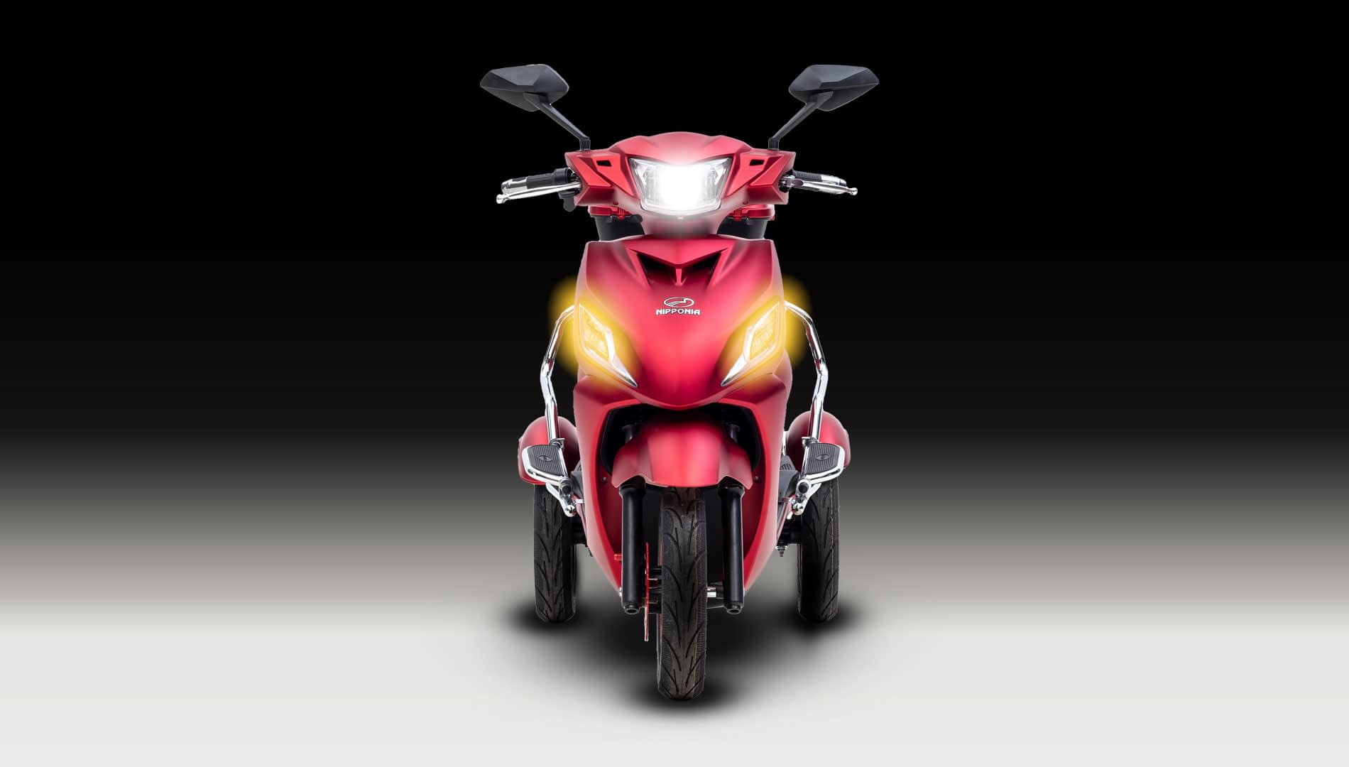Driewielscooter Pride Front Light