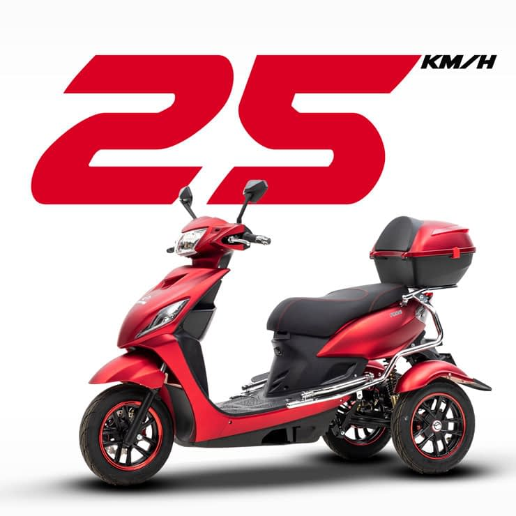 Driewielscooter Pride Speed