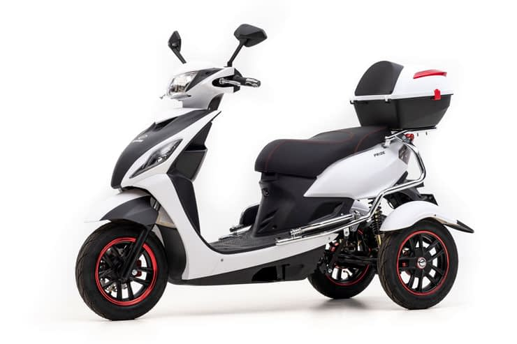Driewielscooter Pride Front left