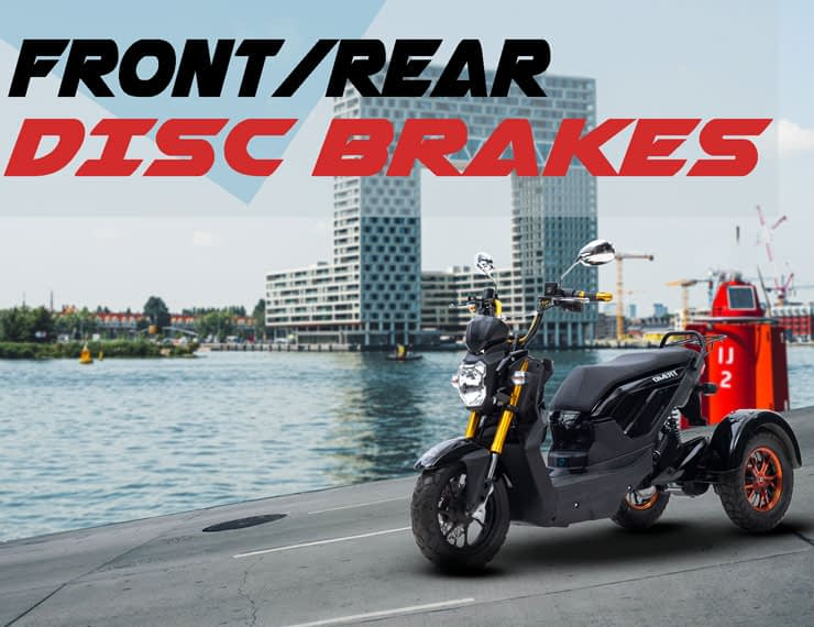 Driewielscooter Trimo Disc Brakes