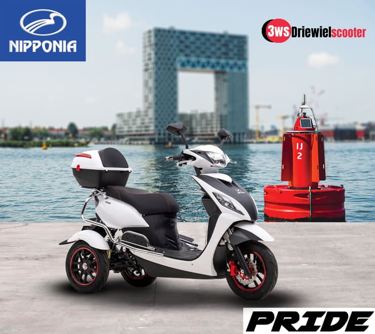 Driewielscooter Pride