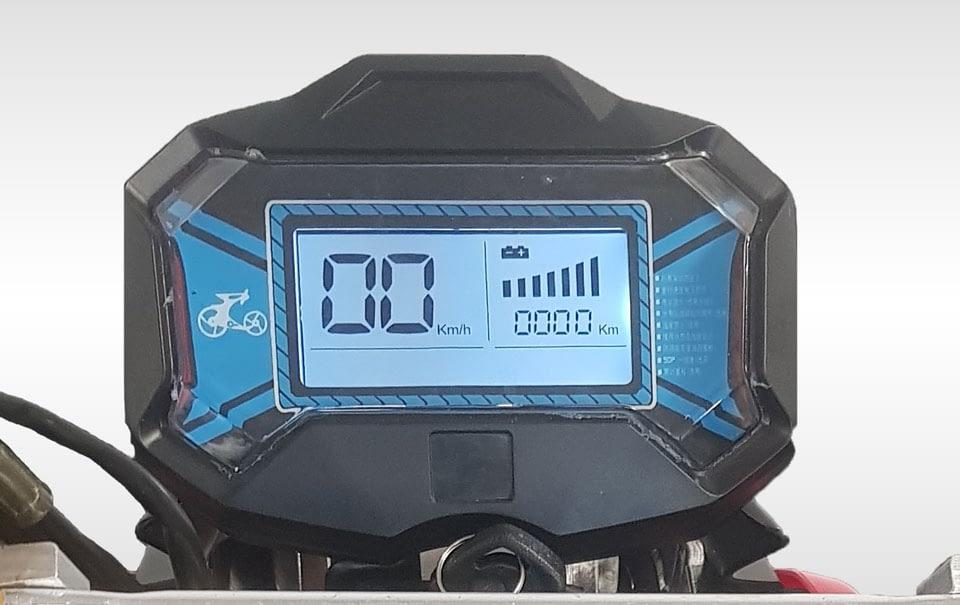 Driewielscooter Trimo Digital Dashboard Close