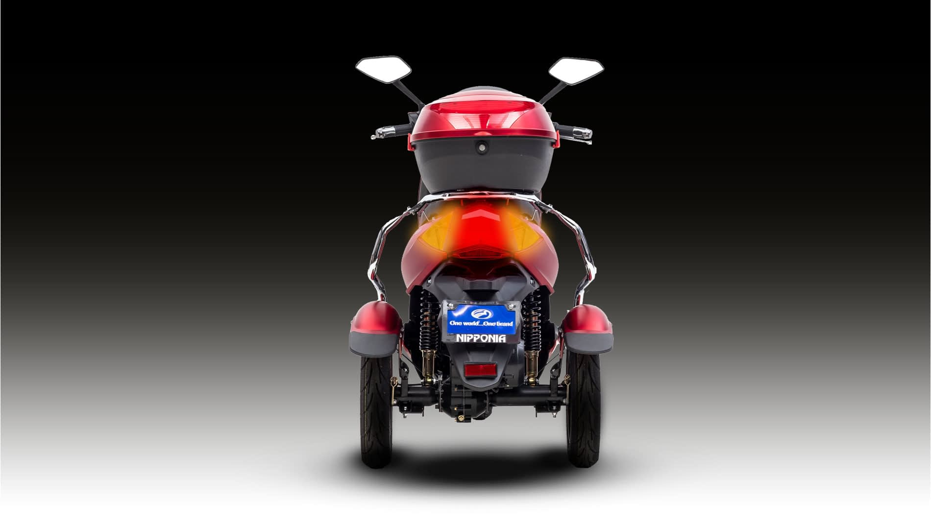 Driewielscooter Pride Back Light