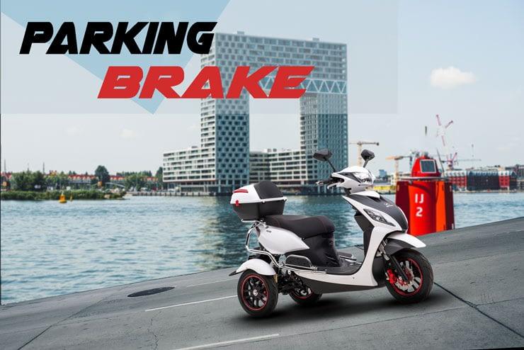 Driewielscooter Pride Parking Brake