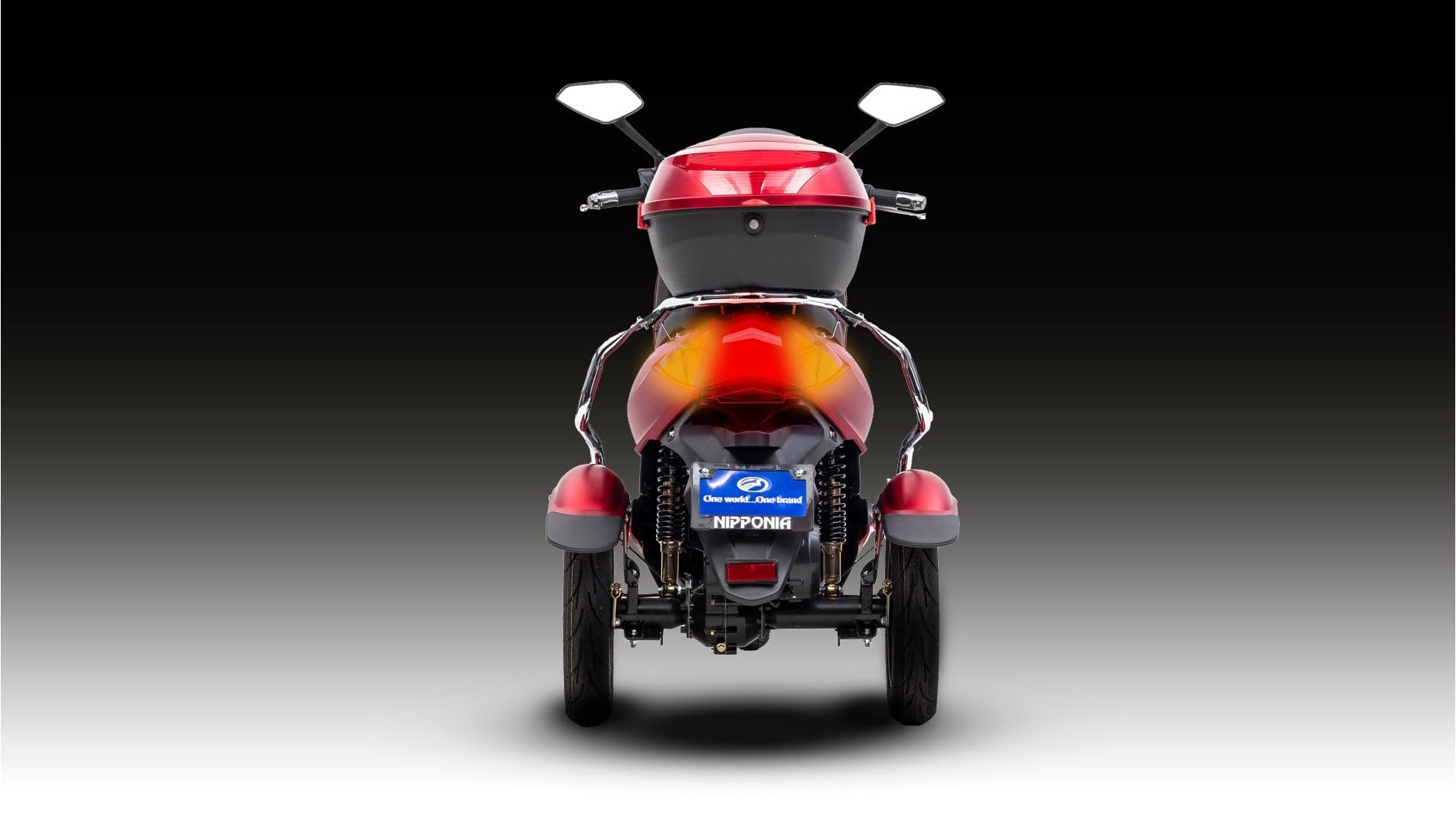 Nipponia Driewielscooter Pride Rear